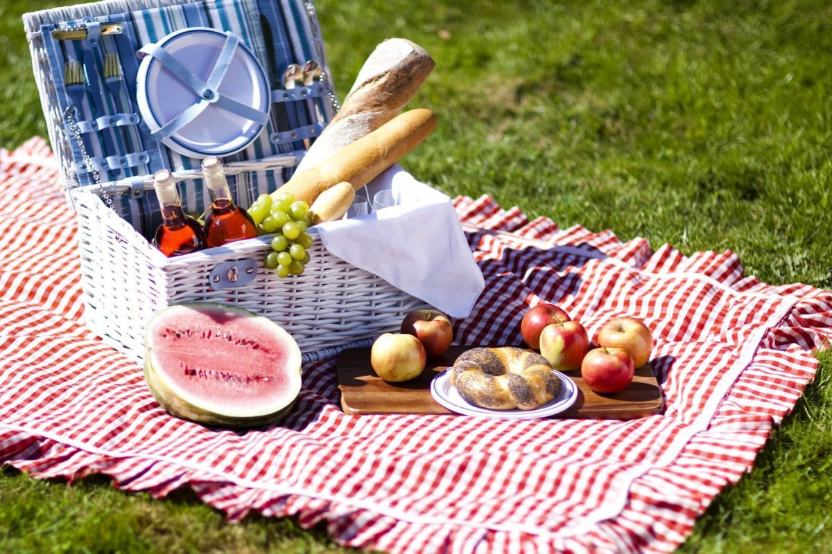 Romantic picnic - Photo 3