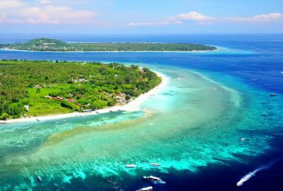 Three Gili Islands Tour (Trawangan, Meno, Air)