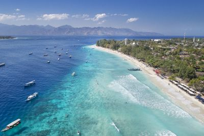 Two Gili Islands Tour (Trawangan & Air)