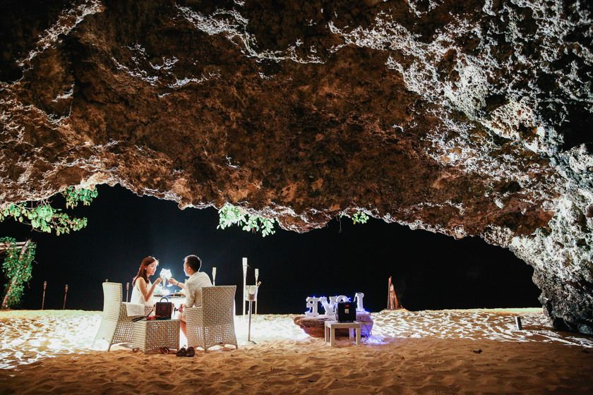 Romantic dinner in the private cave - Photo 4