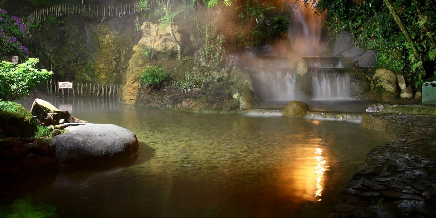 Natural Hot Springs Ciater